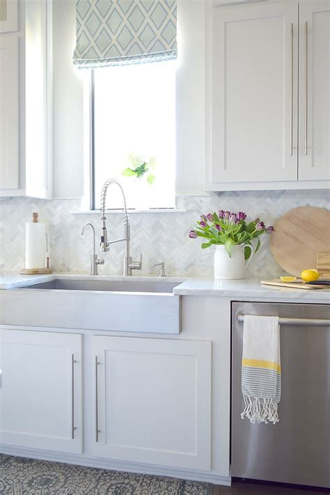 Kitchen Backsplash Tile: How High to Go?   Driven by Decor