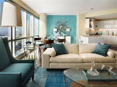 teal living room design ideas trendy interiors   bold