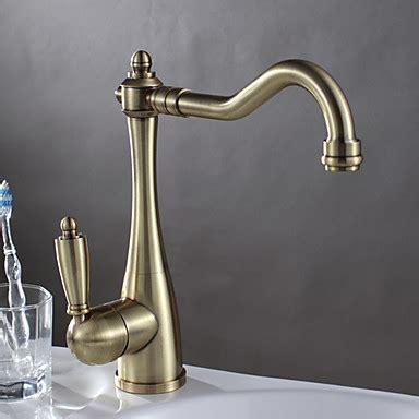 antique brass kitchen faucets antique brass finish kitchen faucet