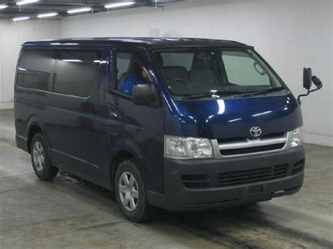 toyota hiace 2005 model 2005 toyota hiace pictures