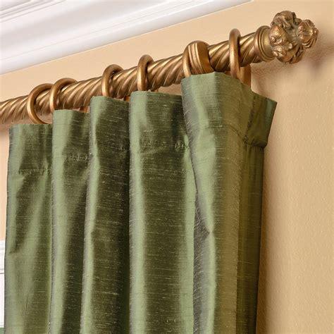 green silk drapes green silk curtains half price drapes