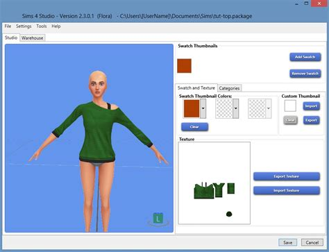 sims 4 studio a versatile tool for making custom content beginner s recolor tutorial using paint shop pro gimp by