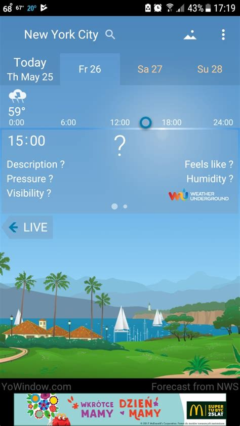what s the best weather app for android the best android weather app review of 15 best weather apps for android