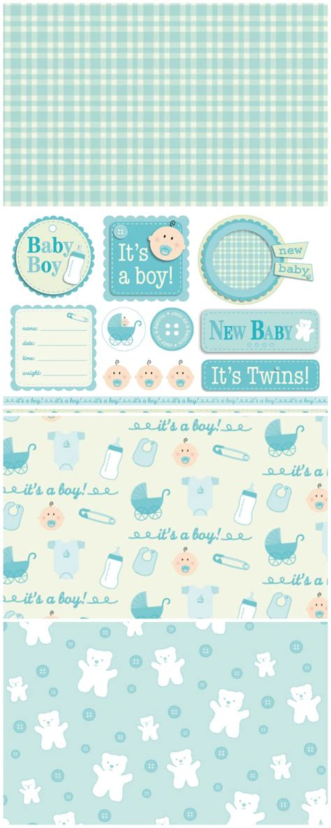 printable papers for card 25 b 228 sta baby boy cards id 233 erna p 229 babykort