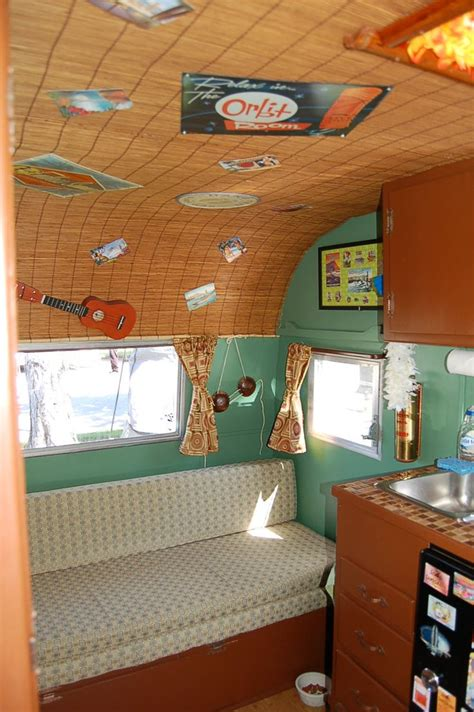 Vintage Travel Trailer Interior Pictures by 17 Best Ideas About Trailer Interior On Travel