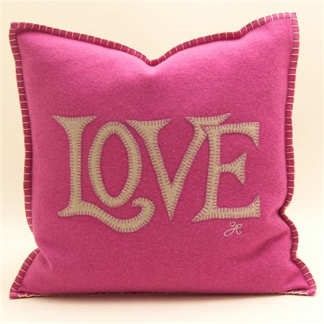love cusion pink love cushion french bedroom company