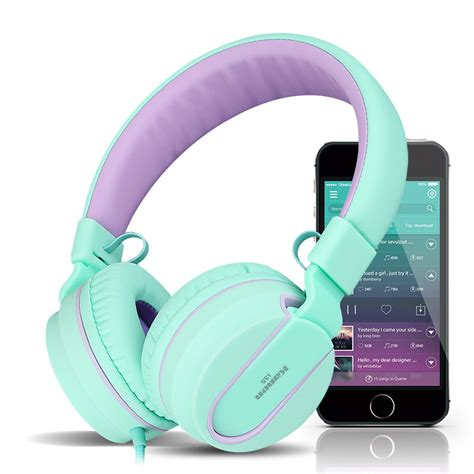 Headset Samsung S8 kanen i35 foldable noise cancelling wired on ear headphone headset with mic for samsung s8