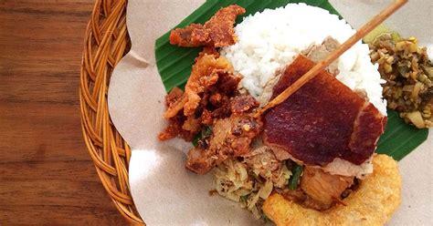 balinese food delicious  unique  colony hotel bali