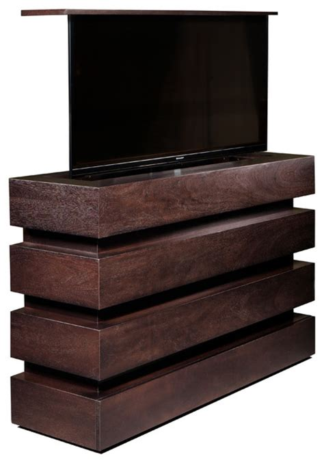 Tv Lift Cabinet Foot Of Bed by Le Bloc Tv Lift Cabinet Espresso Foot Of Bed No Swivel