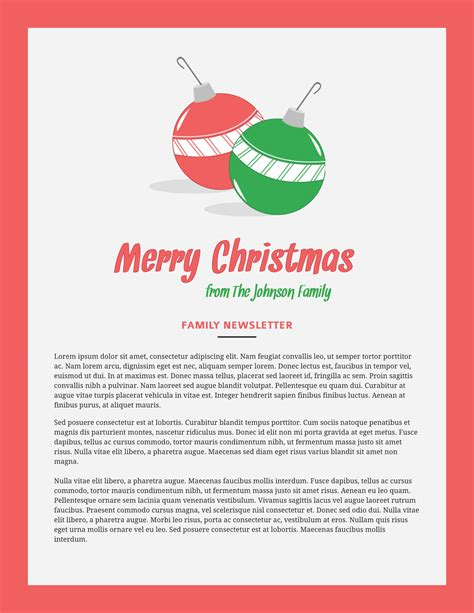 christmas templates examples lucidpress