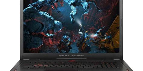 Asus Rog Strix Gl702zc Gc824t Ryzen 7 1700 Asus Rog Strix Gl702zc With Ryzen 7 1700 And Rx 580 Debuts