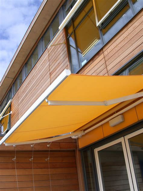 awnings for schools deans blinds