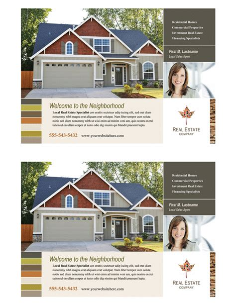 templates for half page flyers download real estate flyer half page free flyer