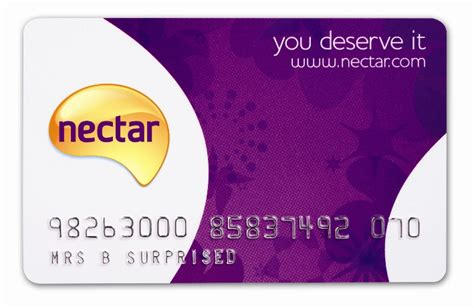 nectar card shop in the uk