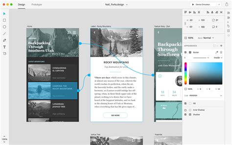 design web application tool adobe xd a powerful tool for ux designers how design