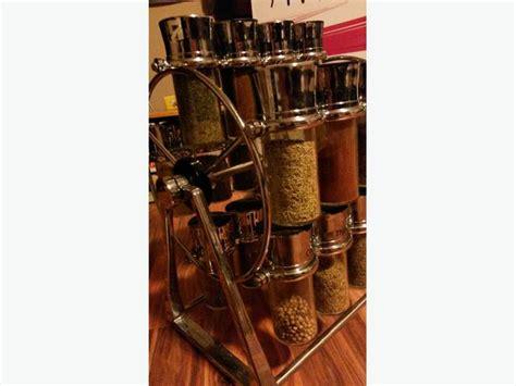 Olde Thompson Ferris Wheel Spice Rack ferris wheel spice rack olde thompson ferris wheel spice rack saanich