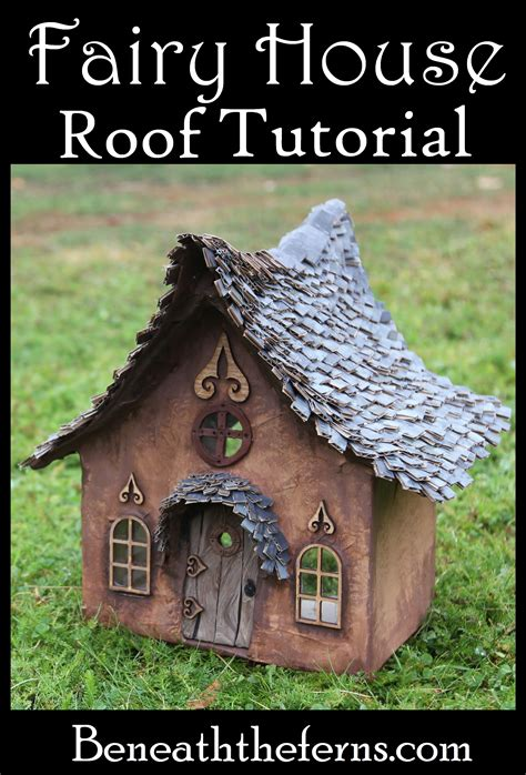 How To Make A Paper Roof - how to make a house roof with shingles beneath the
