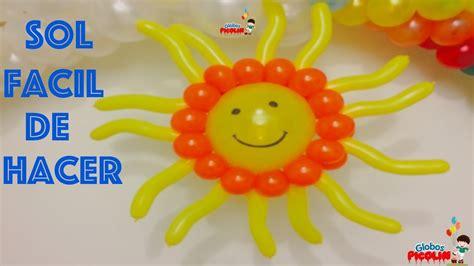 Como Hacer Un Sol De Unicel   como hacer un sol de unicel como hacer un sol facil super