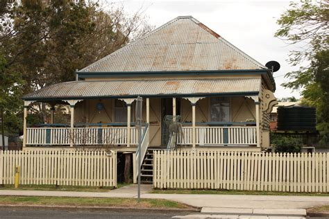 Australian House Plans file laidley queenslander house jpg wikimedia commons