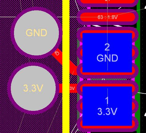 pcb decoupling capacitors on the bottom layer electrical engineering stack exchange