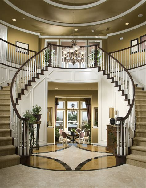 Staircase Ideas Near Entrance 36 Different Types Of Home Entries Foyers Mudrooms Etc Entrance Foyer Small Dining Rooms