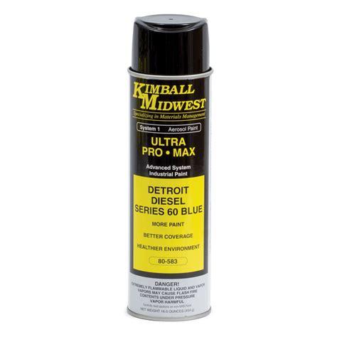 spray paint detroit detroit diesel series 60 blue ultra pro max paint