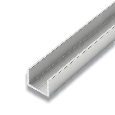 alexandria moulding metal  channel satin clear