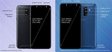 Harga Lcd Tablet Samsung A6 samsung rilis resmi galaxy a6 dan a6 di indonesia harga