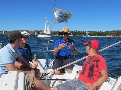 catamaran sailing school learn to sail yachts and catamarans on sydney harbour