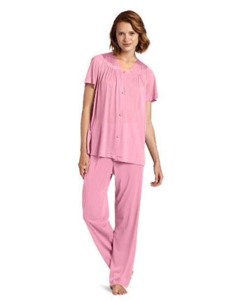 Vanity Fair Pajamas by Vanity Fair S Colortura Sleeve Pajama Perfumed 2x