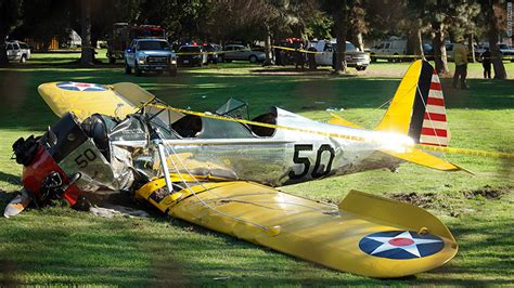 harrison ford plane crash harrison ford s plane involved in airliner mishap feb