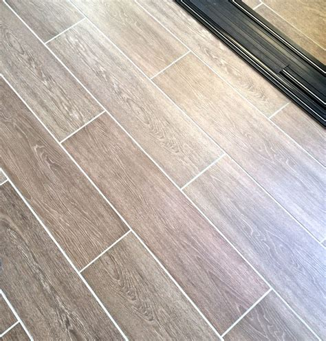 tile wood look with grout flooring pinterest tile wood and grout