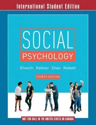 social psychology classic reprint books read or social psychology by tom gilovich