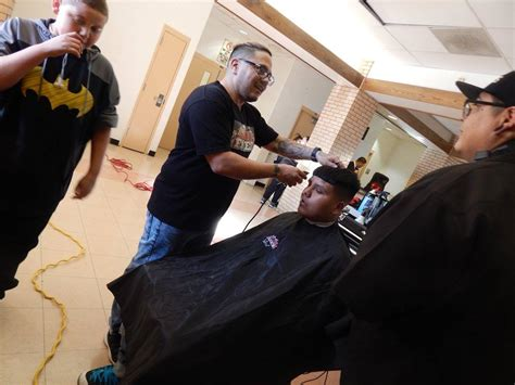 haircut denver west haircuts for the holidays local barbers give back at west