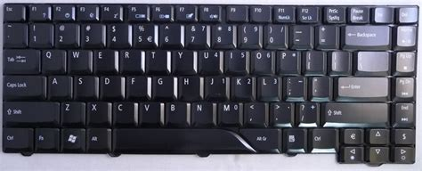 acer keyboard notebook 5715 acer aspire 5715 black glossy laptop keyboard key