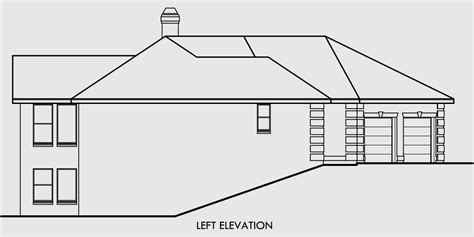 exposed basement house plans ranch exposed basement house plans house and home design