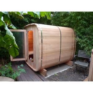 sauna ext 233 rieur en bois