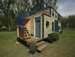 doctor s 240 sq ft tiny ski lodge is a double decked