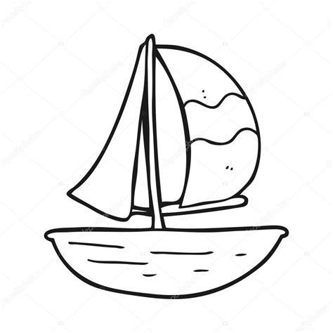 imagenes en blanco y negro de barcos nave de la vela de dibujos animados blanco y negro