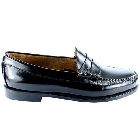 mens g h bass larson slip on smart loafer flat