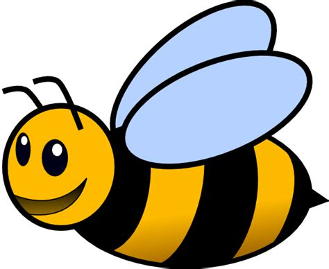bee clipart bee clip at clker vector clip