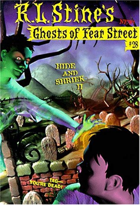 Or Fear No 28 By Rl Stine Buruan Ambil hide and shriek ii ghosts of fear no 28 by r l
