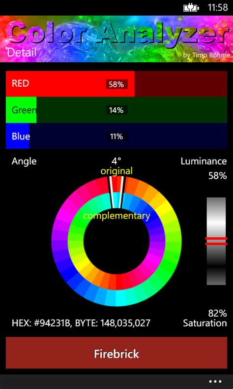 color analyzer c for an jpg image file get 3 4 average colors
