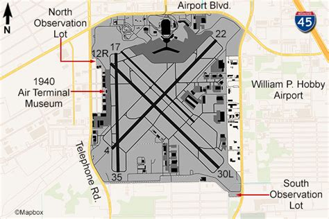 houston map airport houston william c hobby airport flightline aviation media