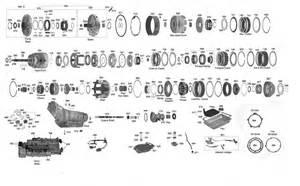 trans parts 700 4l60e transmission parts