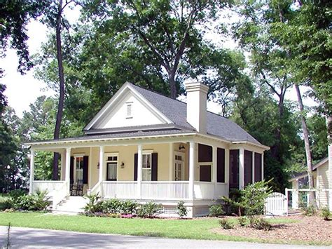 southern living house plans cottage style
