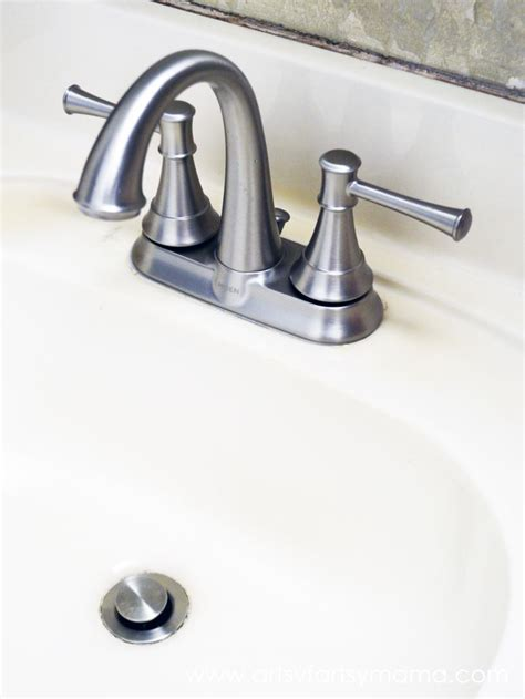 how to fix bathroom faucet how to install a bathroom faucet