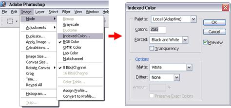 indexed color graphics tutorial images for the pg 6