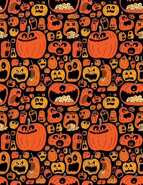halloween pattern tumblr pumpkin pattern chris piascik