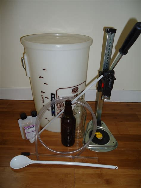 your home brew kit equipment